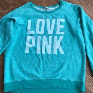 Victoria's Secret Pink slouchy crewneck sweater